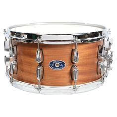 Chicago Drum & Restoration 5x14 Mahogany/Poplar Snare Drum Natural Satin