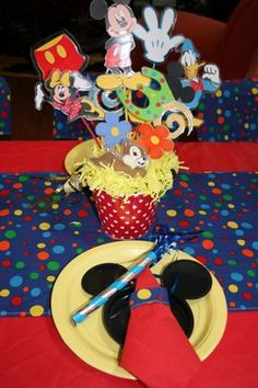 mickey mouse first birthday | Mickey Mouse Birthday Party Ideas Helping You Create 1st Birthday ...