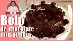 Bolo de chocolate feito no microondas gostoso e fofinho | Culinária Bril...