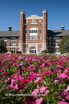 Northwest flower garden by Northwest Missouri State University, via Flickr