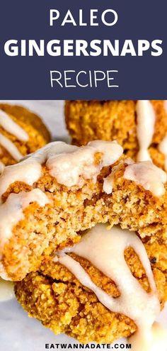 Date Recipes Gluten Free, Great Vegan Recipes, Healthy Dessert Recipes, Delicious Desserts, Cookie Recipes, Date Spread Recipe, Favorite Cookie Recipe, Favorite Recipes, Pumpkin Spice Cookies