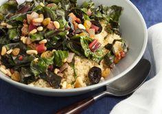 Summery Swiss Chard, Corn, Peach, and Quinoa Salad on http ...