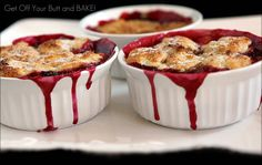Peach and Berry Cobbler, Crisp or crumble.  Easy