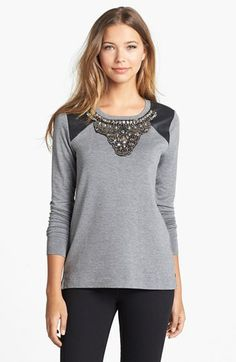 yep....i own it!!!!! and LOVE it!!!  kensie Embellished Sweatshirt - Macy's