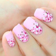 preety pink nail 2018