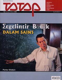 Pak Pantur Silaban dalam. Cover Tatap Edisi Januari-Februari 2008