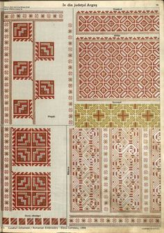 Folk Embroidery, Embroidery Stitches, Embroidery Patterns, Cross Stitch Patterns, Machine Embroidery, Antique Quilts, Brick Stitch, Traditional Outfits, Cross Stitching