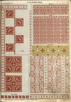 Folk Embroidery, Embroidery Stitches, Embroidery Patterns, Cross Stitch Patterns, Machine Embroidery, Antique Quilts, Brick Stitch, Cross Stitching, Folk Art