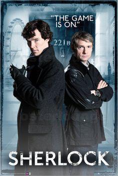 Poster von Sherlock - Door