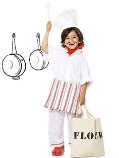 Is your child a budding chef? Celebrate his cooking skills with this kitchen-ready costume. http://www.parents.com/holiday/halloween/costumes/creative-chef-costume/?socsrc=pmmpin092112HWCChef