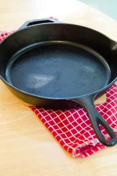 You can use a cast iron skillet for most anything — as long as you take the time to maintain it and keep it in good condition. Here's how.