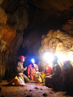 cavers in romania