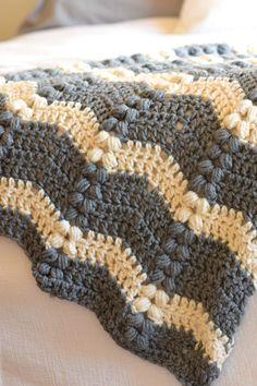 Vintage Lola Crochet Ripple Throw Pattern – Mama In A Stitch Modern Crochet Blanket, Crochet Blanket Patterns, Stitch Patterns, Kids Crochet Blanket, Knitting Patterns, Crotchet Patterns, Scarf Patterns, Knitting Tutorials, Crochet Ripple