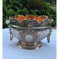 Image of Corbell & Co. Silver-Plate Monteith Bowl