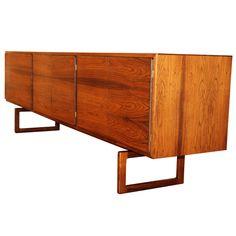 Arnie Hovmand Olsen Rosewood Credenza For Mogens Kold Cool Furniture, Furniture Design, Vintage Sideboard, Mid Century Furniture, Olsen, Credenza, Mid-century Modern, Upholstery, David