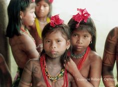 Embera Girls Robert Oelman