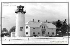 The famous Chatham Lighthouse,  Cape Cod - Laura Healing With Spirit, Spiritual Medium, Speaker, Teacher - www.healingwithspirit.webs.com