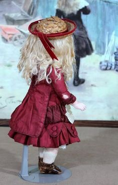 Rare ABG 913 Pouty Bebe Doll, 13 inches