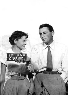 Roman Holiday - Love Audrey's expression.