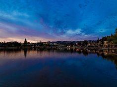 Lake Merritt, Oakland @ sunset   Flickr: Intercambio de fotos