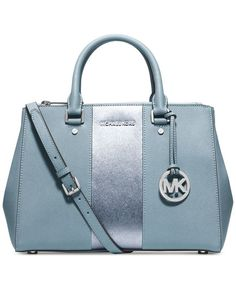 Mix and match a MICHAEL Michael Kors handbag, wallet and pom charm to create her perfect holiday gift. - leather ladies handbags, branded ladies purse with price, fiorelli handbags *ad