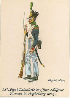 French; 93rd Line Infantry, Voltigeur, Magdebourg Garrison 1813-14
