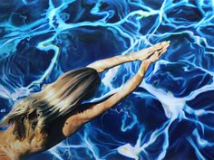 Oil Paintings of Underwater Scenes by Matt Story