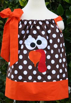 Hey, I found this really awesome Etsy listing at https://www.etsy.com/listing/127627692/thanksgiving-pillowcase-dress-size-0-12