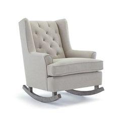 Beautiful nursery rocking chair