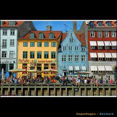 Nyhavn, Copenhagen #copenhagen