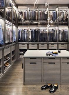 Great Walk-In Closet Ideas - Stunning Large Custom Closet Designs Custom Closet Design, Walk In Closet Design, Custom Closets, Wardrobe Design, Closet Designs, Master Closet Design, Closet Walk-in, Closet Bedroom, Closet Ideas