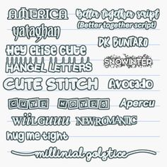Aesthetic Fonts, Aesthetic Stickers, Aesthetic Videos, Photography Editing Apps, Photo Editing, Font Packs, Cute Fonts, Lightroom Tutorial, Lettering Tutorial