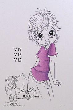 Heather's Hobbie Haven: Color Combo's - Violet...