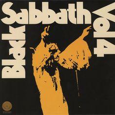 BLACK SABBATH - LP Vol 4 (Brown Clear Vinyl)