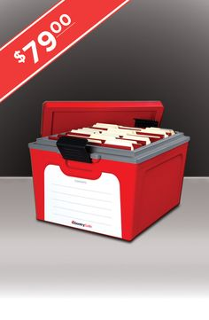Don't leave valuable keepsakes and irreplaceable memories vulnerable to fire or flood! The Guardian Storage Box is the only long term container that protects the items you store from fire, water and other environmental damage.