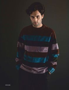 Da Man heads into the new year with cover star Penn Badgley. The You actor takes to the studio with photographer Mitchell Nguyen McCormack and stylist David Bonney. Sporting a mix of relaxed and… Star Gossip, Gossip Girl, Pretty Men, Pretty Boys, Penn Badgley, Fine Men, Man Photo, My Guy, Celebrity Crush