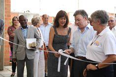 Inauguración de obras en comuna 21.  Crédito Juan David Padilla @Congo Amarillo MinCultura 2013.