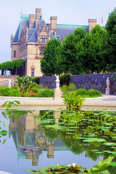 Italian Garden by the #Biltmore House in Asheville NC - More Biltmore photos: www.romanticasheville.com/Biltmore.html