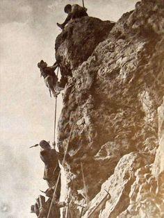 Fronte Isonzo - Alpini conquistano il Monte Nero