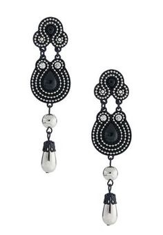 Cato Fashions Ball Chain Dangle Earrings #CatoFashions