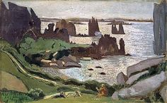 Vue de Plougrescant, 1937 de Maurice Denis