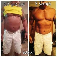 YES MEN WRAP TOO!!! Amazing results using 2 body wraps from It Works! A box of 4 wraps is just $59 as a Loyal Customer. For more info or to order visit our website: http://www.theultimatecrazywrap.com/ultimate-body-applicator.html
