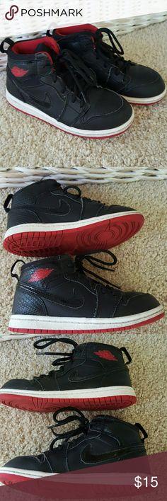 Nike Air Jordan Hightops Size 10C