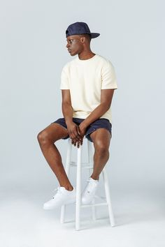 Created in Aimé Leon Dore is a fashion and lifestyle brand based out of New York City. Croquis Fashion, Aime Leon Dore, Cute Black Guys, Photography Poses For Men, Pretty Men, Lookbook, Fashion Images, Mens Clothing Styles, Mens Fashion