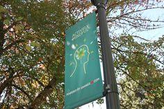 gavin potenza  banners for OSU campus