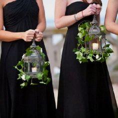 For an evening wedding