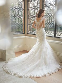 Stunning wedding dresses by Sophia Tolli Spring A beutiful bridal collection of gowns featuring fashion masterpieces. Stunning Wedding Dresses, 2016 Wedding Dresses, Wedding Dress Shopping, Designer Wedding Dresses, Bridal Dresses, Wedding Gowns, Beautiful Gowns, Beautiful Things, Essense Of Australia