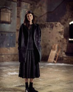 TOAST | Women Winter Collection Look Book. Photograph by Nicholas James Seaton . toa.st
