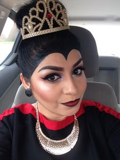 EVIL QUEEN by Nena344. Tag your pics with #Halloween and #SephoraSelfie on Sephora's Beauty Board for a chance to be featured!