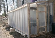 Constructing a thermal mass greenhouse part 4